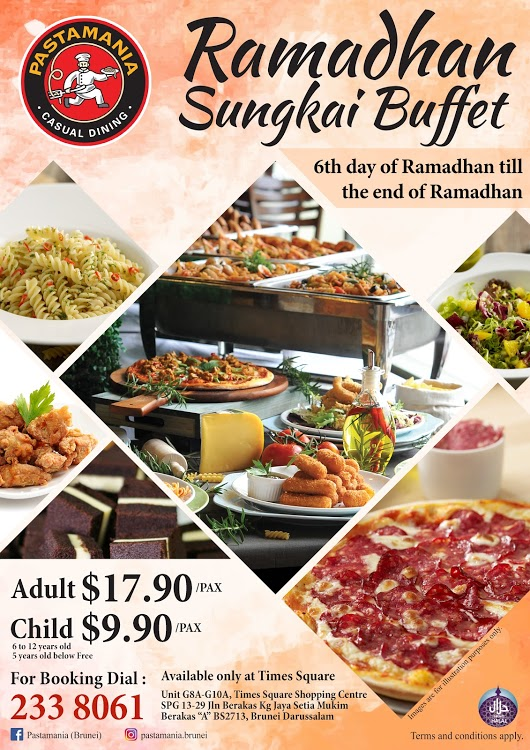 Pastamania Sungkai Buffet
